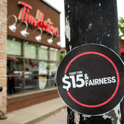 Tim Hortons threatened by living-wage and union campaigns, company documents show
