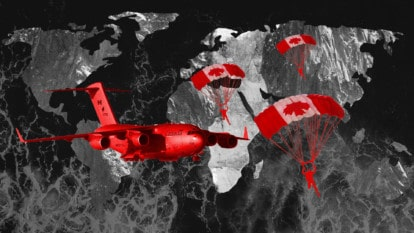 Canada building global network of military bases in aggressive shift